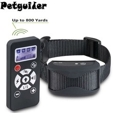 2 In 1 Pet Dog Training Collar Anti Bark Stop Collar Interchangeabl Rem