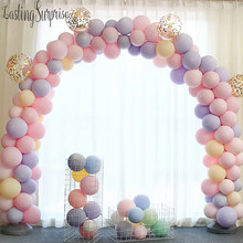 Air Dots 10 Inch Single Layer Macarons Candy Color Balloons Wedding Decoration Balloon Chain Girl'S Birthday Birthday Decoration(China)