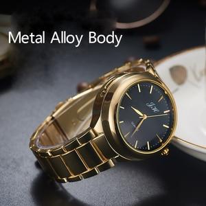 Image 3 - ผู้ชายนาฬิกาFlameless USBไฟแช็กนาฬิกาผู้ชายควอตซ์นาฬิกาข้อมือทังสเตนสแตนเลสไฟแช็กนาฬิกาJH329