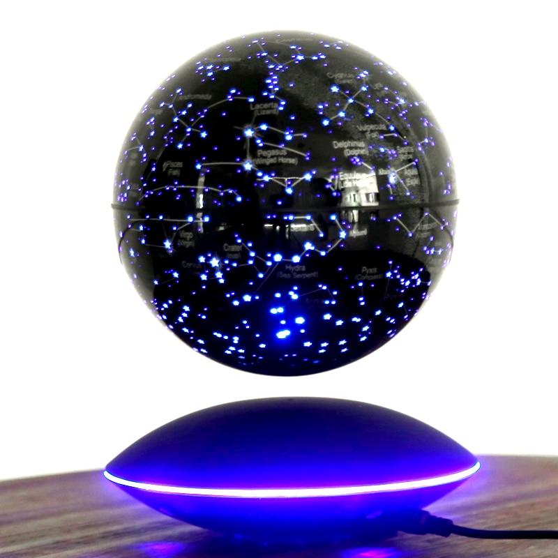 Tian Yu 6 Inch Constellation Magnetic Levitation Globe Lighting Rotation 8 Inch Creative Crafts Birthday Gifts Boys