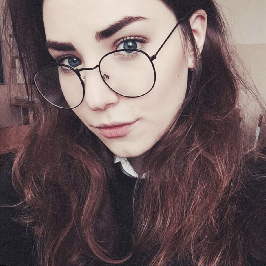 2018 Black Designer Woman Glasses Optical Frames Metal Round Glasses Frame Clear Lens Eyeware Transparent  Eye Glass