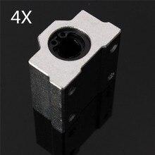 4 шт. SC8UU SCS8UU 8 мм слайд блок подшипник сталь Линейное движение шариковые втулка ВАЛ ЧПУ DIY
