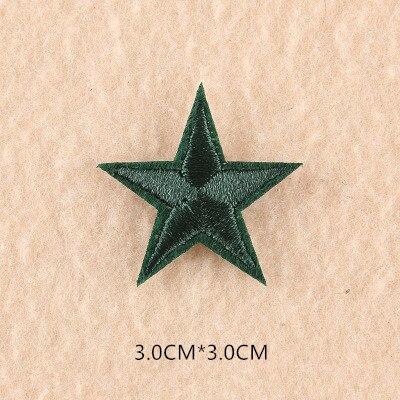1 шт. смешанные нашивки со звездами для одежды, железная вышитая аппликация, милая нашивка эмблема на ткани, одежда, аксессуары для одежды DIY 61 - Цвет: 61Z2