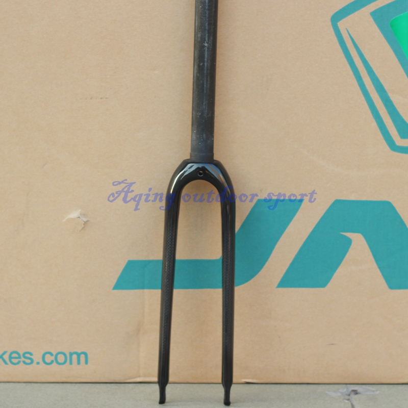 ФОТО 1pcs Axle 74mm 451 3K Carbon Fork 20