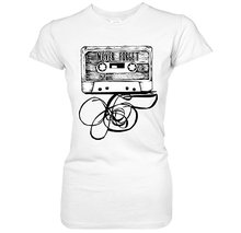 Never Forget Cassette Tape girlie / women's shirt