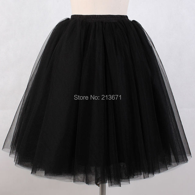 Underskirt Crinolinas Baijinbai Nueva Llegada de la Alta Calidad 2017 Vestido de Novia de Una Línea de Capas de Tul Negro Novia de La Boda Enaguas