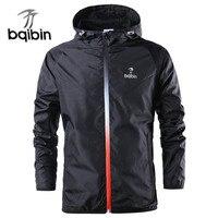 New Brand Fashion Spring Autumn Windbreaker Jacket Men Casual Sportswear Hooded Coats Male Windproof Jacket Zipper