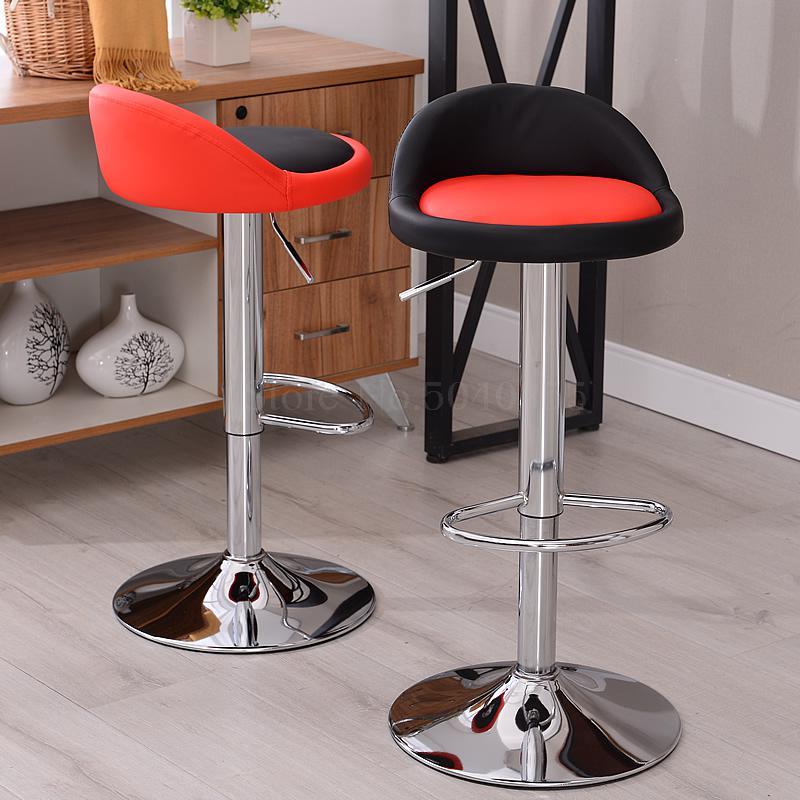Bar Chair Lift Chair Simple High Stool Rotating Bar Table Chair Home Fashion Bar Stool Bar Chair Cash Register Stool