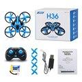 H36 mini 4ch 6 axis gyro rc quadcopter drone jjrc con Modo sin cabeza/Interruptor de Velocidad de Una Función de Tecla de Retorno Dron RTF de la Luz LED