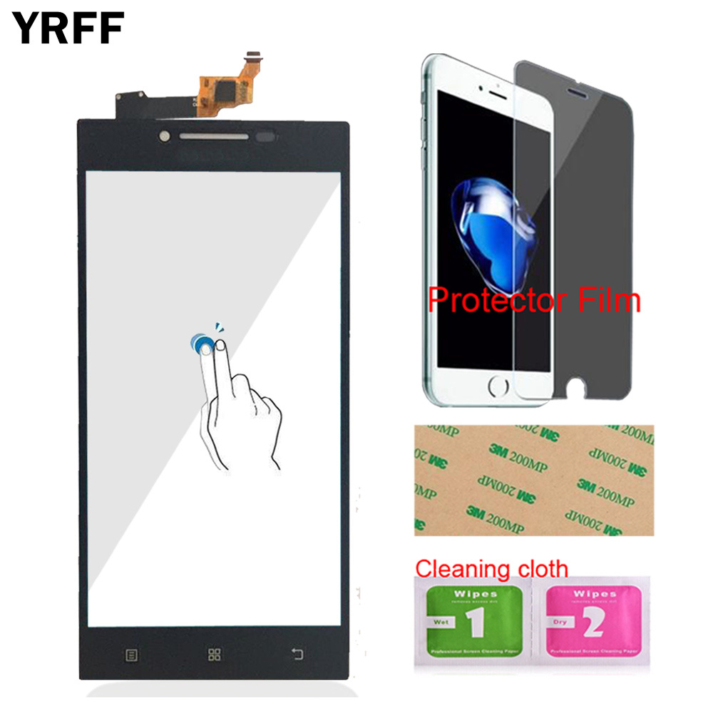 Image 2 - YRFF 5.0 For Lenovo P70 P 70 Touch Digitizer Screen Front Glass Phone Part Smartphone Panel Repair Tools Protector Film Adhesive-in Mobile Phone Touch Panel from Cellphones & Telecommunications