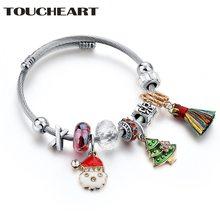Toucheart регулируемые браслеты и ручной работы шармы для женщин