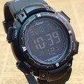 Горячее надувательство! Бесплатная Доставка Мода Цифровые Спортивные Часы мужчины спортивные часы многофункциональный 3 цвета