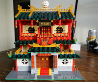New XingBao 2882Pcs Block Genuine Creative Building Series The Chinese Martial Arts Set Building Blocks Bricks Figures Toys