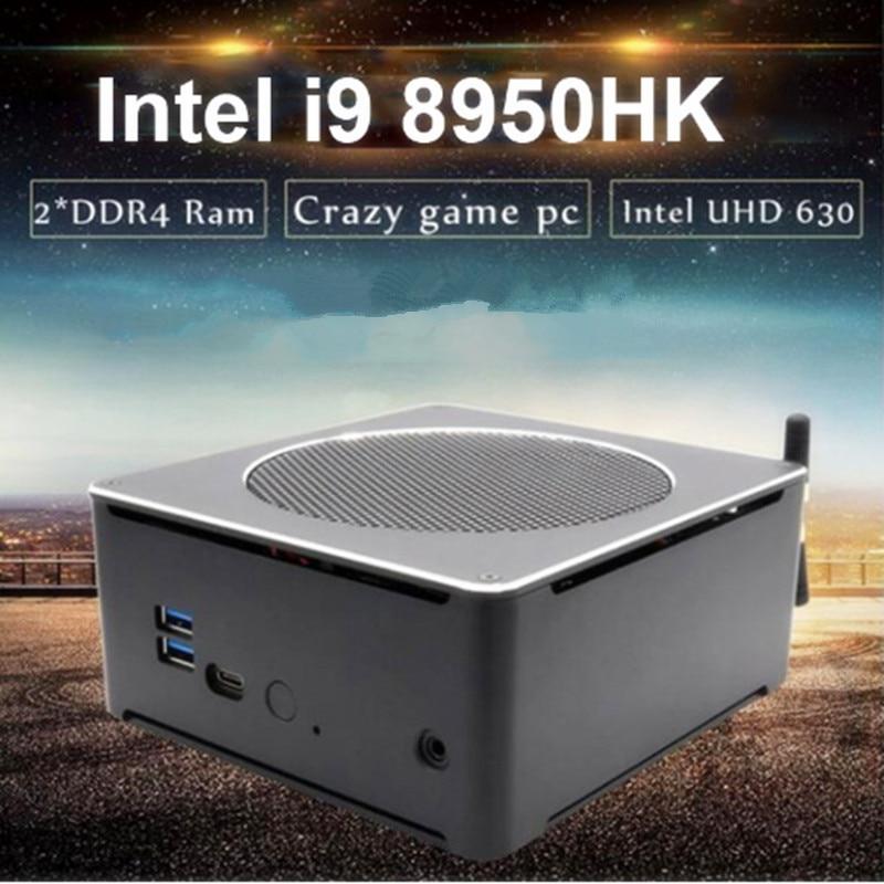 EGLOBAL i5 i7 i9 i9 8950HK 9880H 9850H 9300H E-2176M 4K Ultra HD Windows10 Max 64GB DDR4 USB 3.0 HD-MI DP Computador Minipc