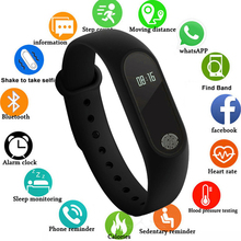 цена на Hot Smart Bracelet Sport Bluetooth Wristband Heart Rate Monitor Watch Activity Fitness Tracker Smart Band ID115Plus PK Mi band 2