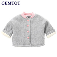GEMTOT Baby Girls Boys Clothing Snow Wear 2017 Autumn And Winter New Warm Long Sleeved Single