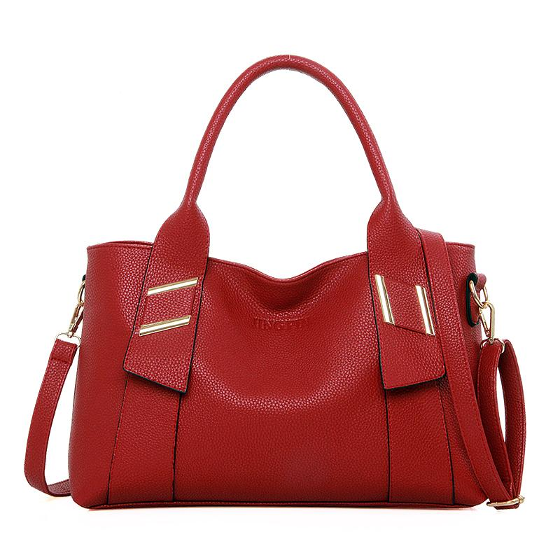 Famous Brand Luxury Women Leather Handbags Women