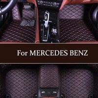 custom luxury car floor mats for MERCEDES BENZ W169 W176 W245 W246 W203 W204 W205 W211 W212 W213 W207 W126 W140 W463 All Class