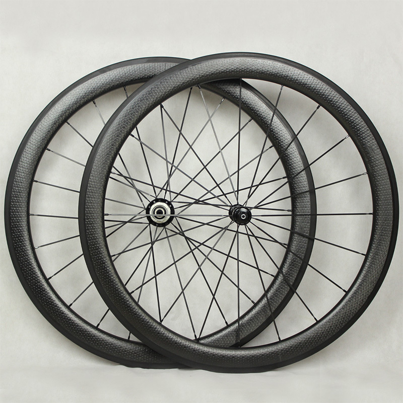 hot sale 700c dimple surface carbon wheelset light weight dimple - Cycling - Photo 2
