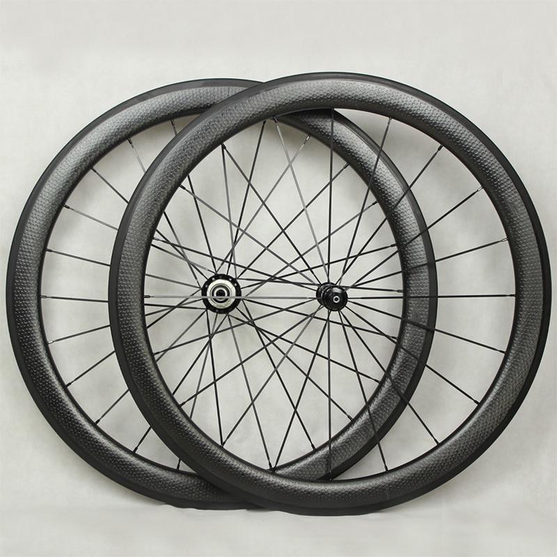 Vente chaude 700c dimple surface de roues en carbone léger poids - Cyclisme - Photo 2