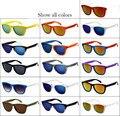 Retro Vintage Clássico Desinger Outerdoors Unisex Gradiente Óculos de Sol dos homens Do Esporte de Surf UV 400 Óculos de Revestimento Frete Grátis