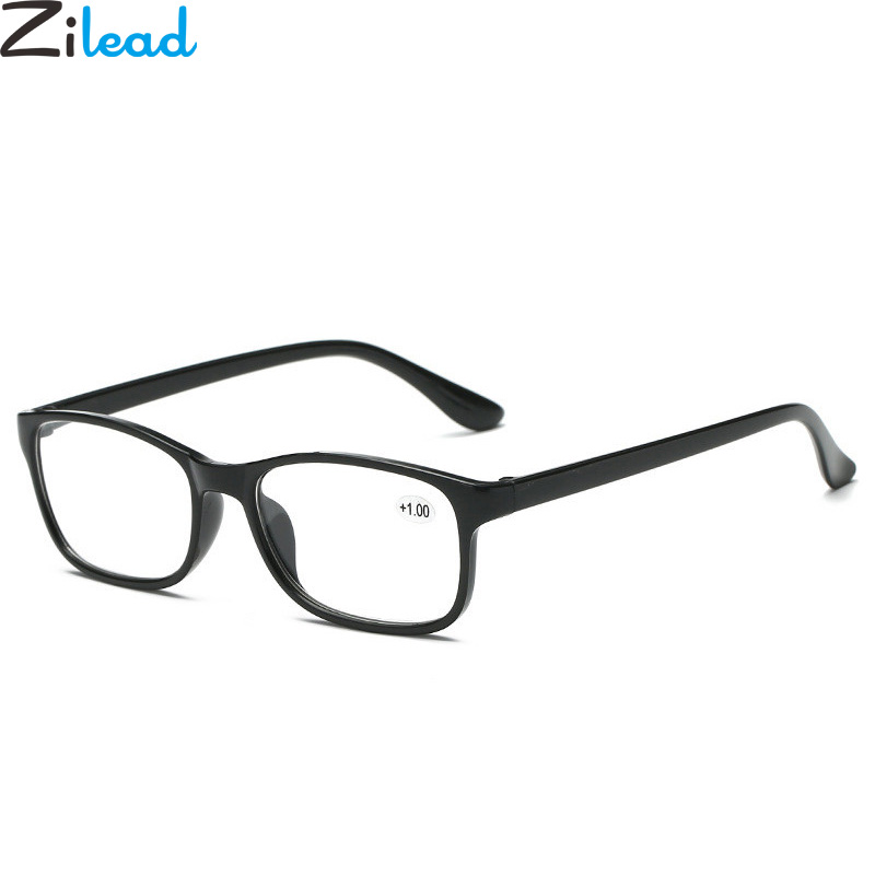 1.5 3.5 3.0 4.0 2.0 2.5 Adaptable Zilead Classical Tr90 Resin Hd Reading Glasses Ultralight Women&men Eyewear Glasses Presbyopia+1.0