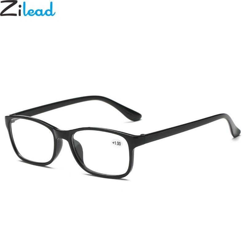 Zilead Classical TR90 Resin HD Reading Glasses Ultralight Women&Men Eyewear Glasses Presbyopia+1.0 +1.5 +2.0 +2.5 +3.0 +3.5 +4.0