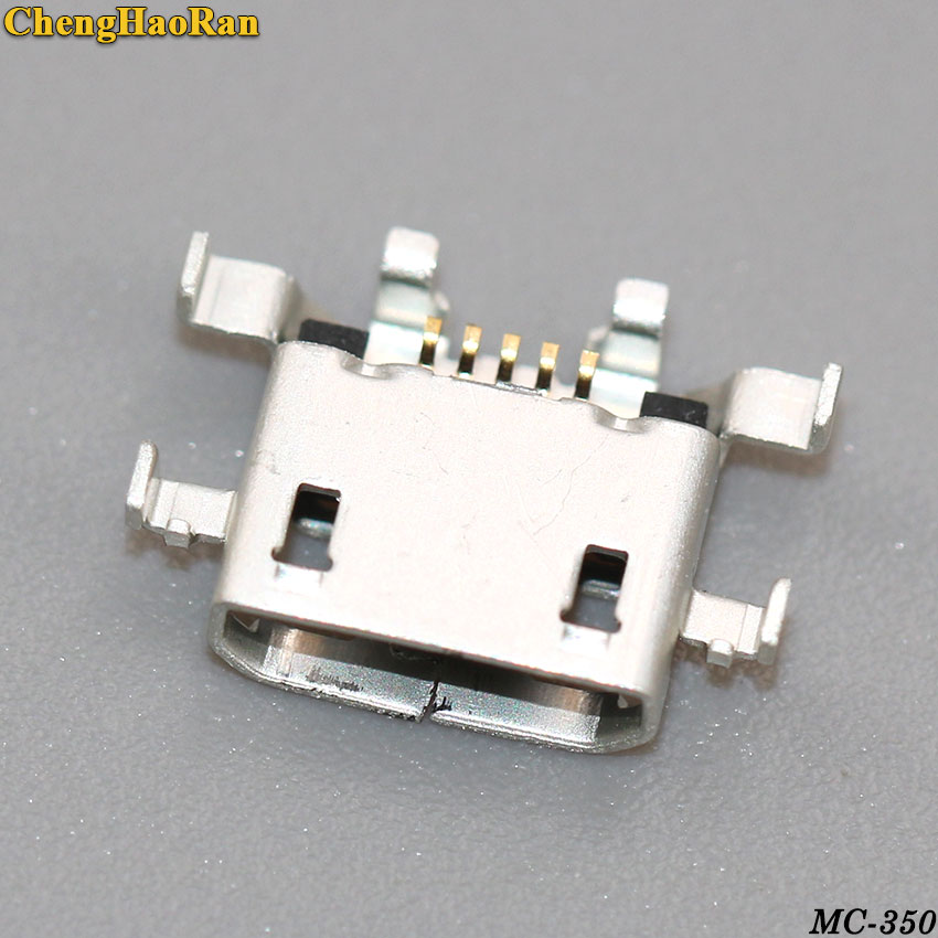 ChengHaoRan 10pcs micro mini usb jack connector for LENOVO A5500 A5500H 8 quot A526 A5500 F TABLET charger Charging Port socket in Connectors from Lights amp Lighting
