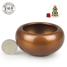 Fine aromatherapy furnace 4# incense Sterling copper brass incense burner censer playing small ornaments gifts стоимость