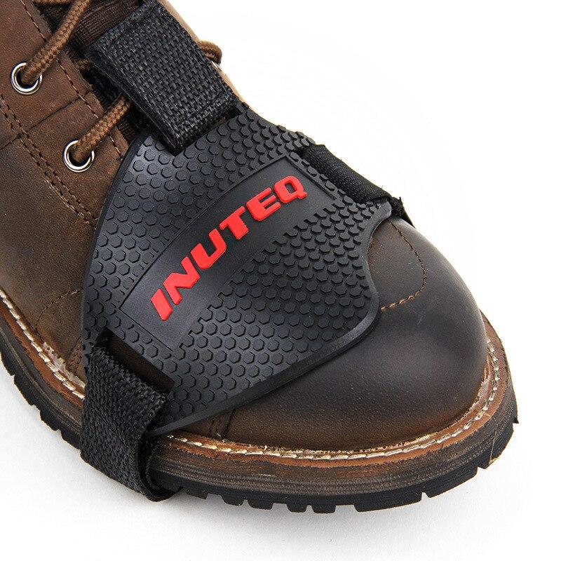 Czarne buty motocyklowe ochronne motocyklowe motocyklowe dźwignia zmiany biegów buty buty Protector Shift skarpety osłona buta osłony silnika
