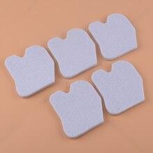 LETAOSK 5PCS Bianco Filtro Aria In Cotone 545061801 Misura Per Husqvarna 235 235E 236 236E 240 240E Motosega
