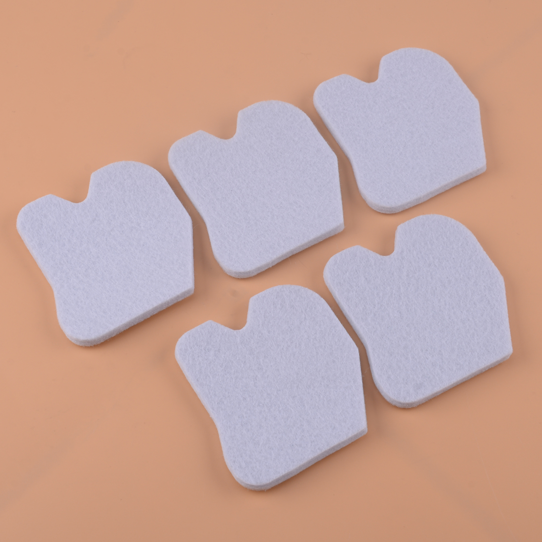 LETAOSK 5PCS White Cotton Air Filter 545061801 Fit For Husqvarna 235 235E 236 236E 240 240E Chainsaw