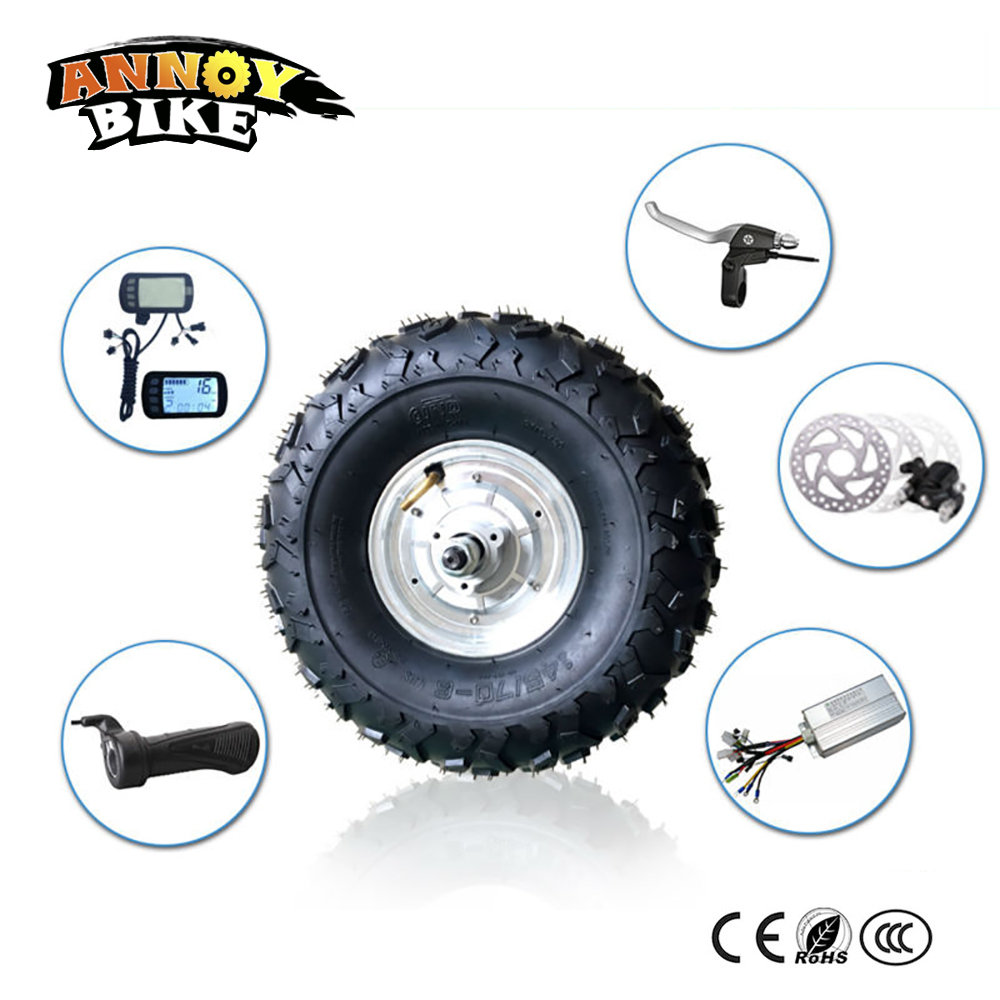 Electric Bicycle Motor Wheel 48v 350w 500w 800w 14 5 inch Bicycle Accessories motor wheel for