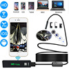 Letike USB Endoscope Camera HD 1200P IP68 Semi Rigid Tube Endoscope Wireless Wifi Borescope Video Inspection