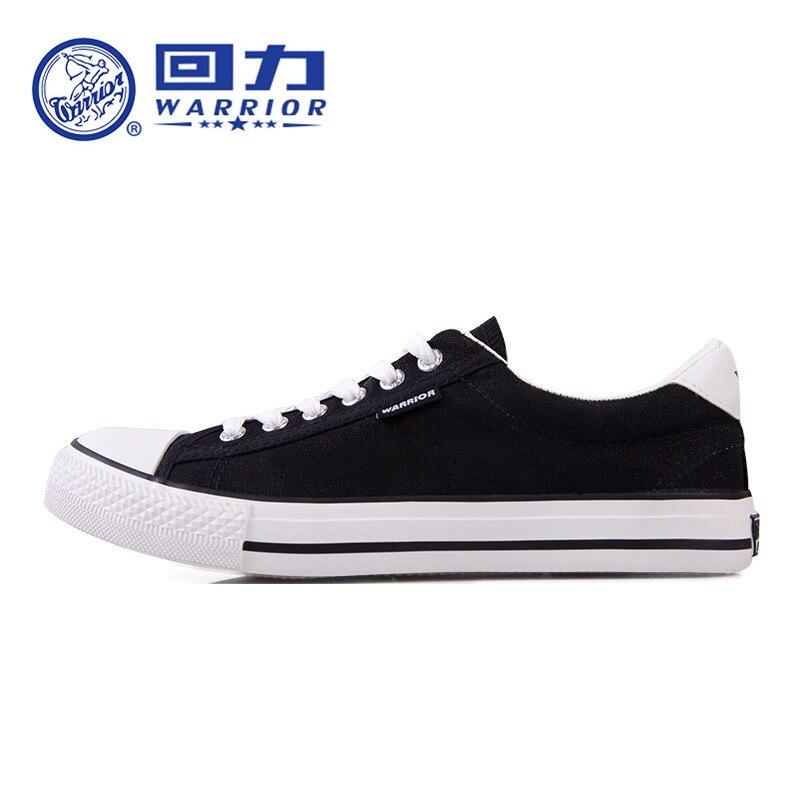 Prix pour Original nouveau GUERRIER toile chaussures hommes sneakers pour hommes bas classique de Planche À Roulettes Chaussures Taille 34-44 # 45A