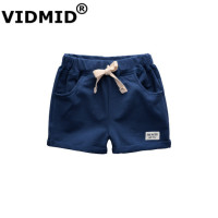 VIDMID BABY Boys 100 Cotton Sport Shorts Trousers Children Short Solid Loose Pants Boys Summer Cute