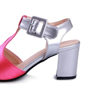 Image 5 - 2017 Time limited Fashion Ladies Shoes Wedge Plus Size Shoes Women Sandals Sapato Feminino Summer Style Chaussure Femme T508