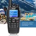 Tyt dm-uvf10 dtmf dpmr digital de walkie talkie de doble banda de radio de jamón de radio transmisor-receptor portátil de radio transmisor walki talki