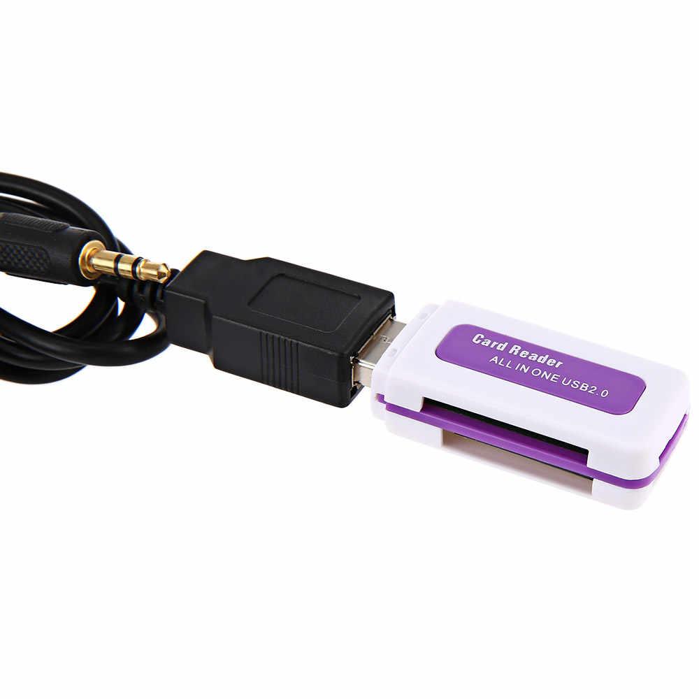 Новинка, автомобильный CD-адаптер MP3 аудио Интерфейс AUX USB SD мини 8 P подключения CD-переключатель для VW Skoda
