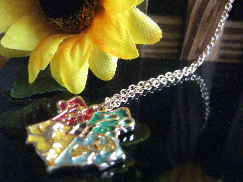Harry Potter Hogwarts Badge Pendant Necklace