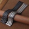 Ремешки для наручных часов полированный ремешок для часов 22 мм 24 мм 26 мм высококачественная металлическая Пряжка из нержавеющей стали реме...