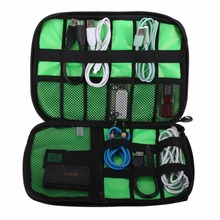 Waterproof Electronic Accessories USB Drive Storage Case Camping Hiking Organizer Bag