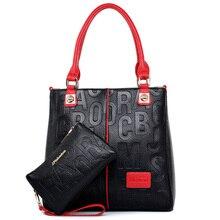 Designer Female Retro 4 Colors Lady PU Handbags Messenger Shoulder Totes Luxury Handbags Women Bags