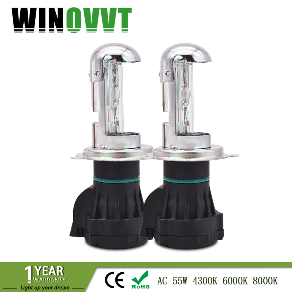 xenon H4 High low lamp 55W bi xenon bulb H4 3 HID xenon light 4300K 6000K