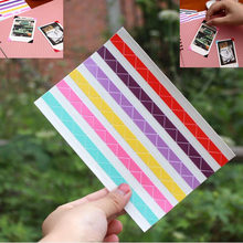 1 Sheet=102 pcs Instax Mini High Hand-made Material Album Decor Sticker Retro Pvc Photo Corner(China)