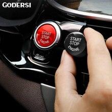 Кнопка запуска двигателя Обложка для BMW шасси F20 F30 F34 F10 F48 F52 F15 F16 F25 F26 Автомобиль Стайлинг для BMW авто аксессуары для интерьера