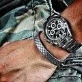 160-220mm estilo punk 316 titanium aço banhado a ouro cabo de malha pulseira Bangle Para Homens & Mulheres Casal Jóias Manguito Aberto pulseiras