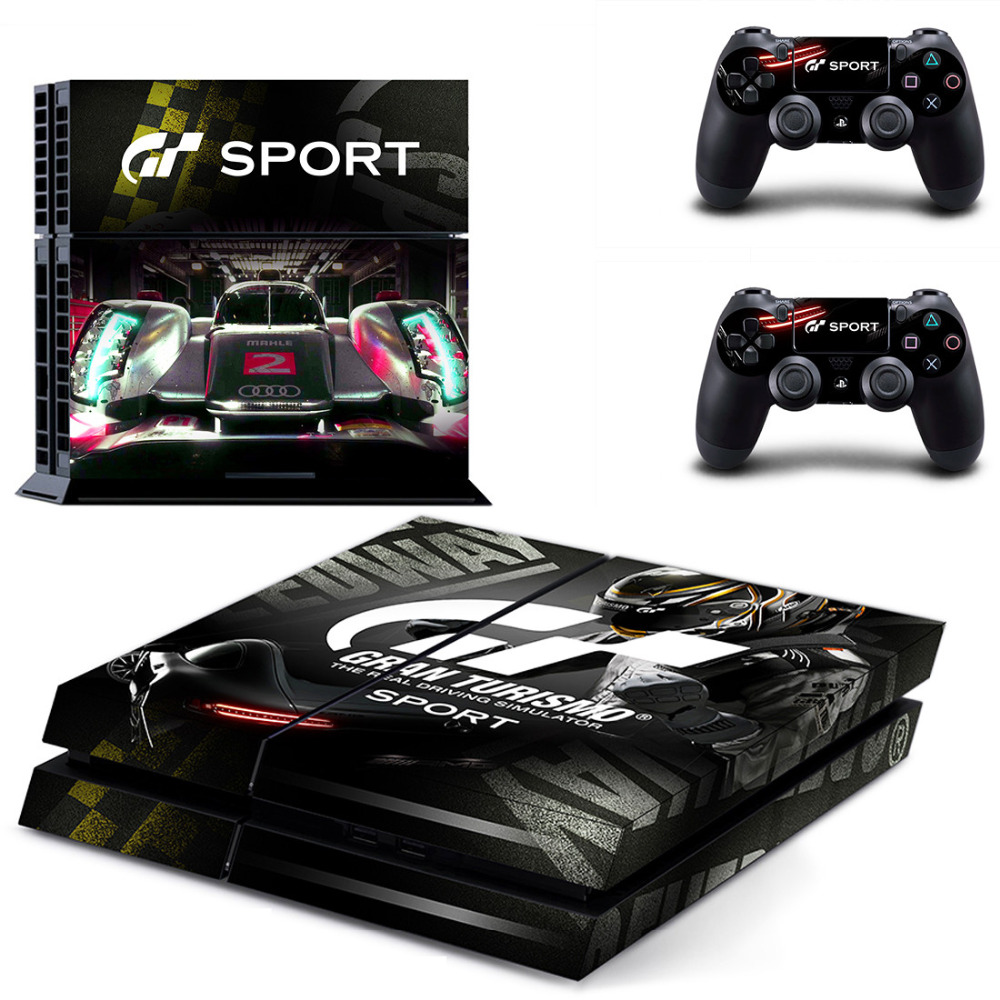 hot cool gran turismo sport model protective skin decals. Black Bedroom Furniture Sets. Home Design Ideas