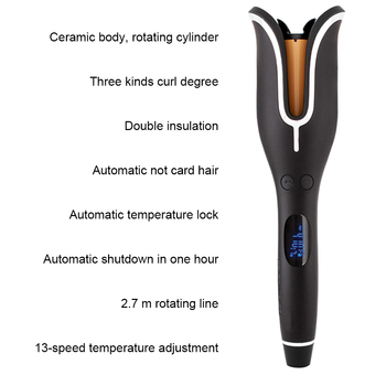 2019 Professional Hair Curler Magic Spiral Automatic Curling  1