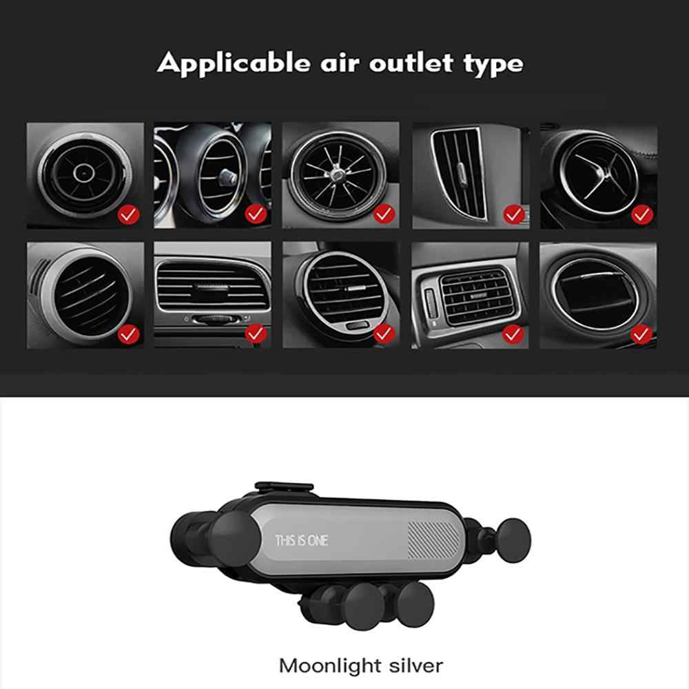 2019 New Mini car outlet bracket Universal mobile phone bracket for iphone xs xr max huawei p30 p30 pro samsung s9 s9plus